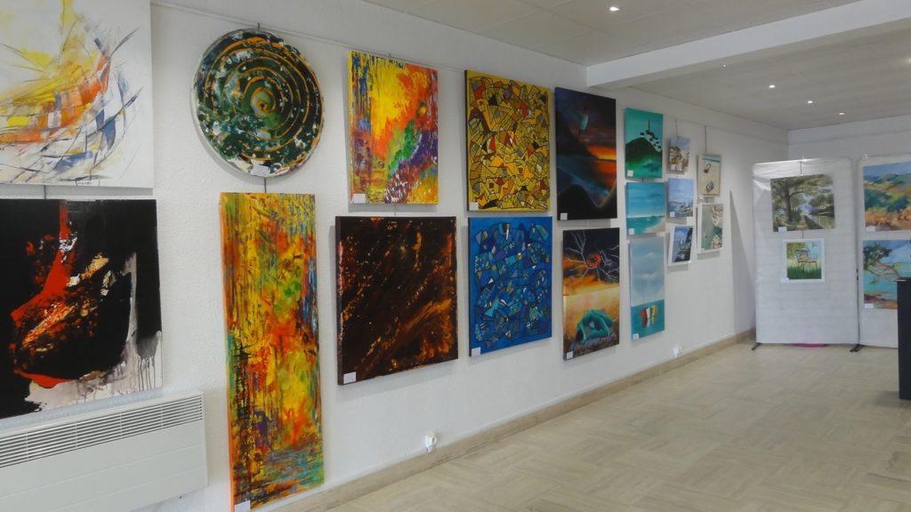 Toiles exposées à la Galerie d'Art de Saint-Georges de didonne