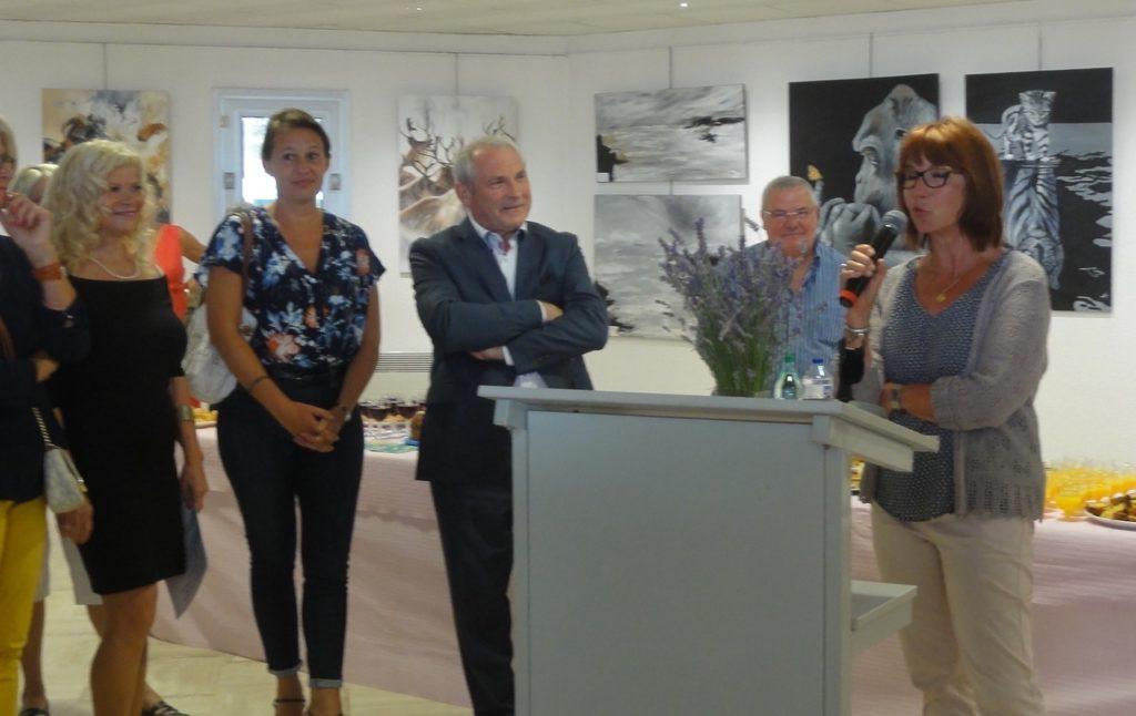 Annick Vallenet, Emilie Bouffard et Jean-Mar Bouffard, Maire de Saint-Georges de Didonne