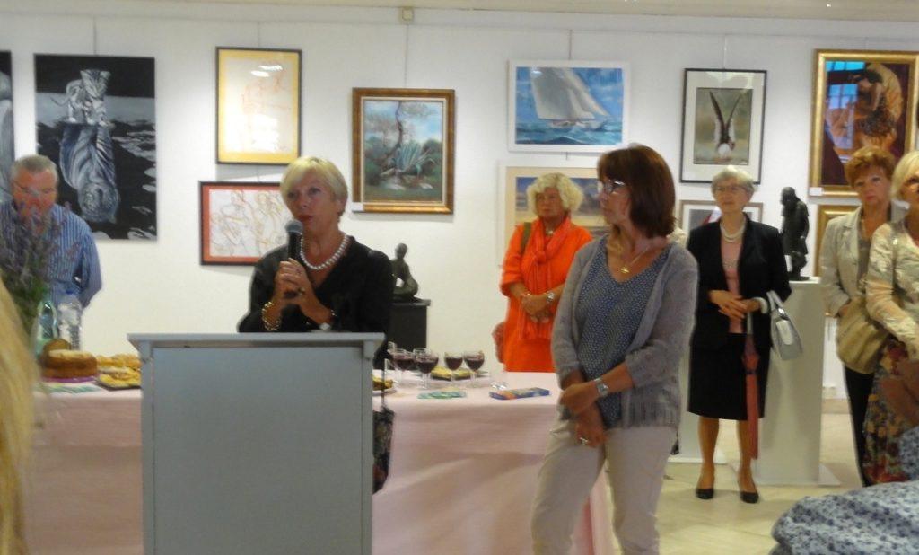 Daniele Dekeyser à la Galerie d'Art de Saint-Georges de Didonne