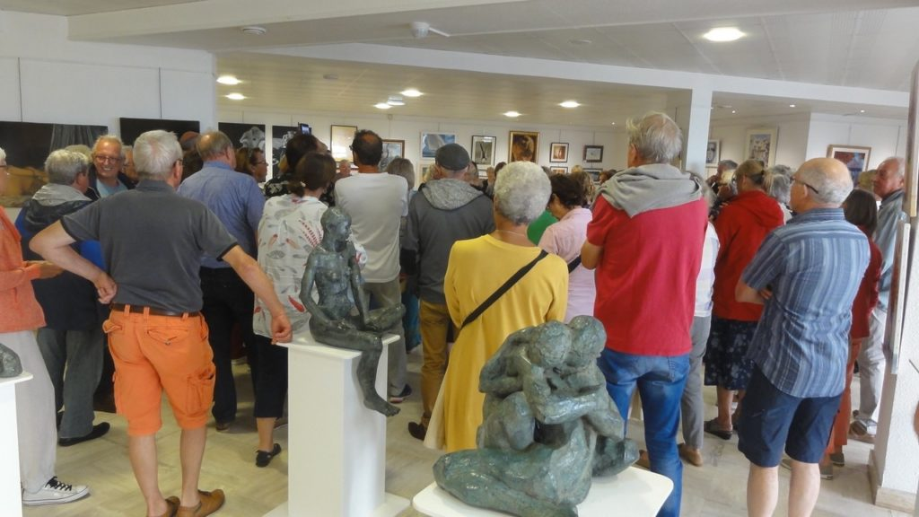 Vernissage à Saint-Georges de Didonne du Salon de la Peinture et de la Sculpture