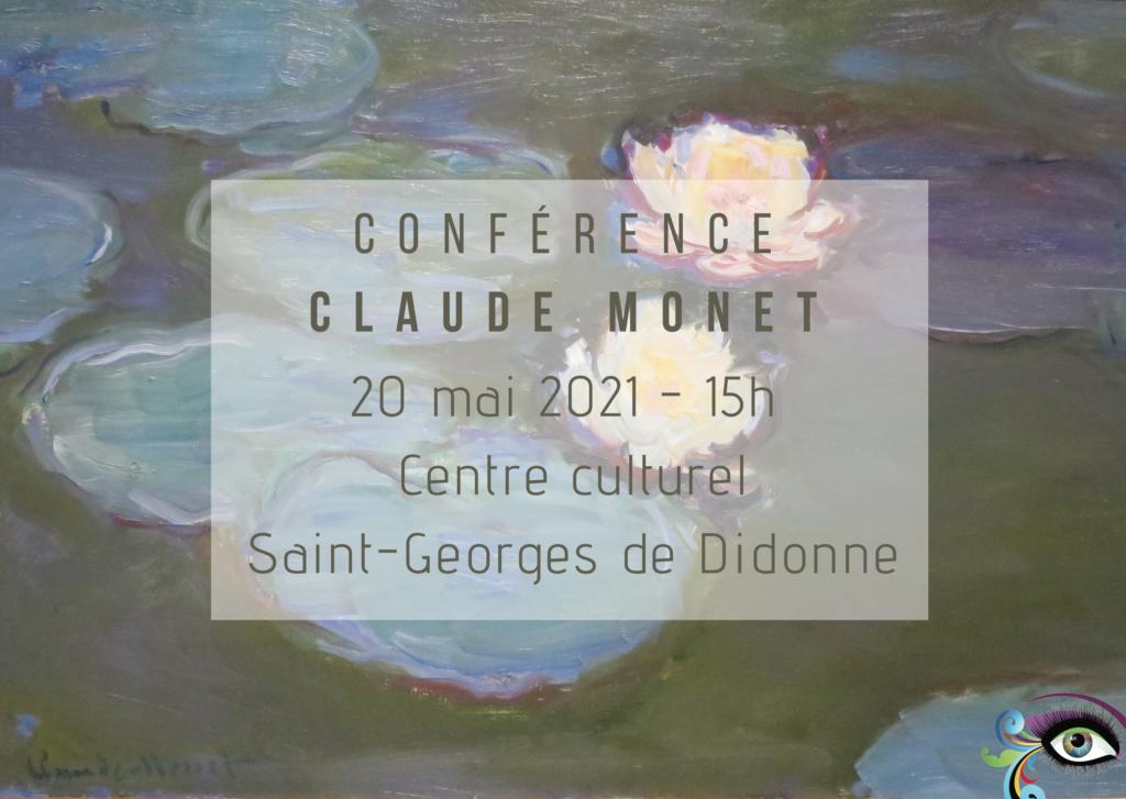 Conférence sur Claude Monet